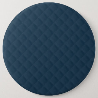 Midnight Blue Quilted Pattern Pinback Button