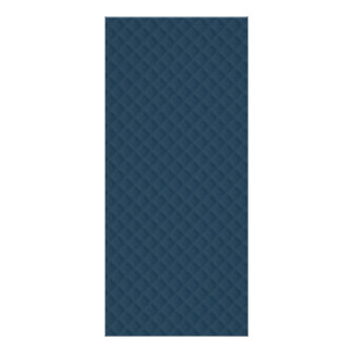 Midnight Blue Quilted Pattern Personalized Rack Card
