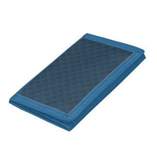 Midnight Blue Quilted Pattern Wallet