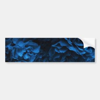 Midnight Blue Rose Bumper Sticker