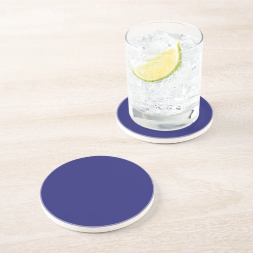 Midnight blue sandstone drink coaster zazzle - Sandstone drink coasters ...