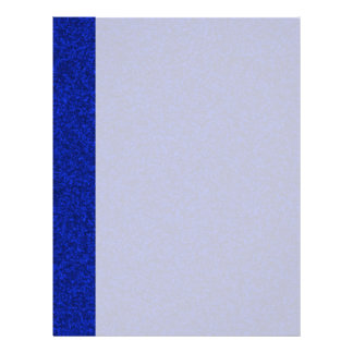 Midnight Blue Sparkly Bits Letterhead