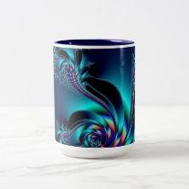 Midnight Blue Two-Tone Coffee Mug