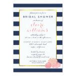 Midnight Blush Peony Bridal Shower Card