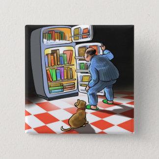 Midnight Book Snack Button