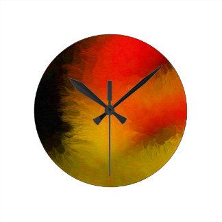 Midnight Bright Round Clock