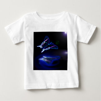 Midnight Butterfly in Blue Baby T-Shirt