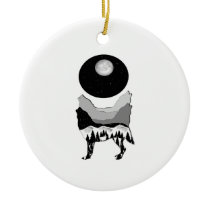 Midnight Calling Ceramic Ornament