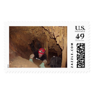 Midnight Cave Postage Stamps