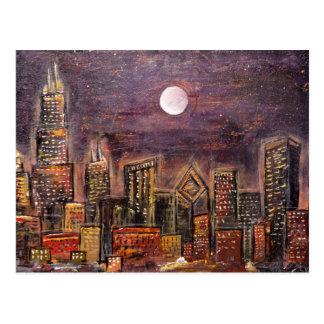 Midnight Chicago © Postcards