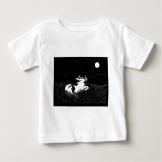 Midnight Cow Baby T-Shirt