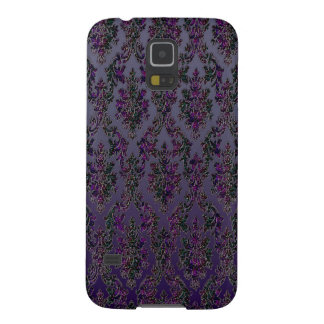 Midnight Damask Print Case For Galaxy S5