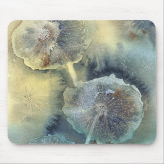 Midnight Dandelion Mouse Pad