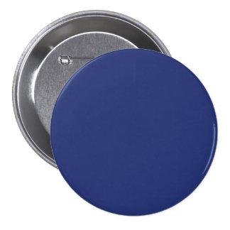 Midnight Dark Blue Personalized Navy Background Button