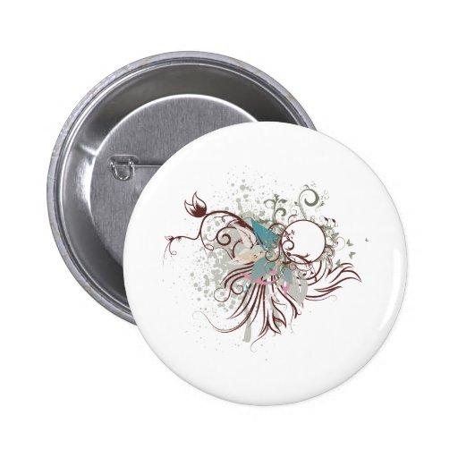 midnight elegance vector 2 inch round button