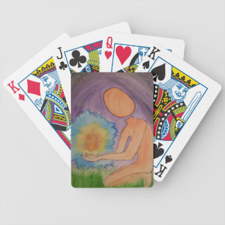 Midnight Energy Bicycle Playing Cards