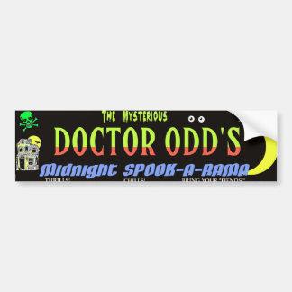 Midnight Espectro-UNo-Rama del Dr. Odd's Pegatina Para Auto