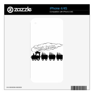 Midnight Express Skins For The iPhone 4