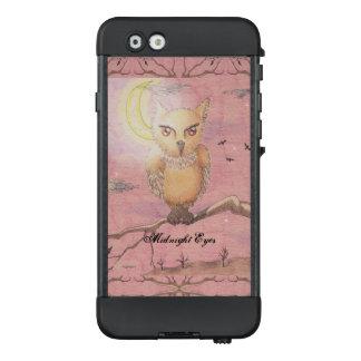 Midnight Eyes Cute Owl Goth Gothic LifeProof NÜÜD iPhone 6 Case