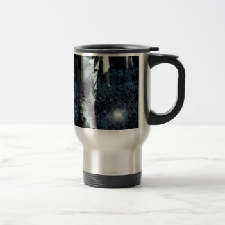 Midnight Fairy Forest - Watercolor Style Travel Mug