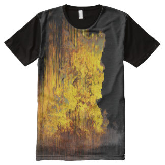 Midnight Flames All-Over Print T-shirt