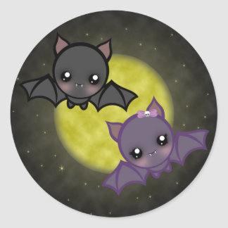 """Midnight Flight"" Large Stickers"