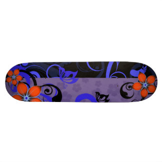 Midnight Flowers Skateboard Deck