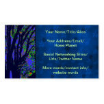 Midnight Forest Double-Sided Standard Business Cards (Pack Of 100)