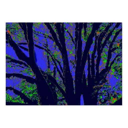 Midnight Forest Large Business Cards (Pack Of 100)