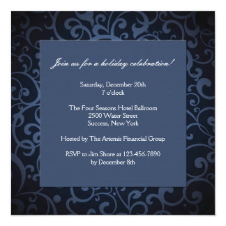 Midnight Formal Party Invitation