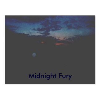 MIDNIGHT FURY, Midnight Fury Postcard