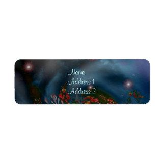 Midnight Garden Avery Label