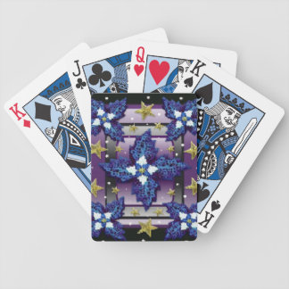 Midnight Garden Bicycle Playing Cards