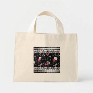 Midnight Garden Canvas Bag