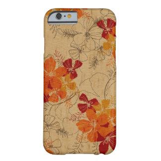 Midnight Garden Hawaiian Faux Wood iPhone 6 Case