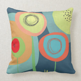 Midnight Garden - Images on both sides Throw Pillow