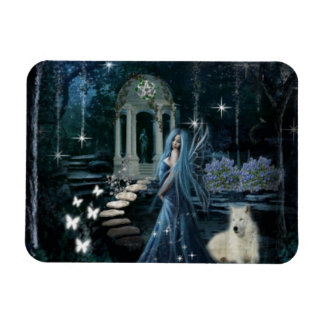 Midnight Garden Magnet