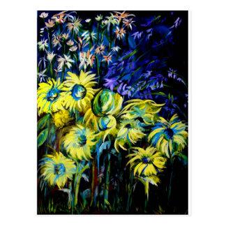 Midnight Garden Postcard