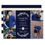 Midnight Garden Wedding Save the Date Card