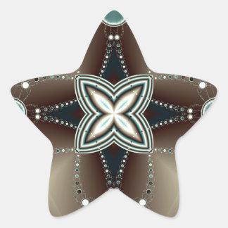 Midnight godl star sticker