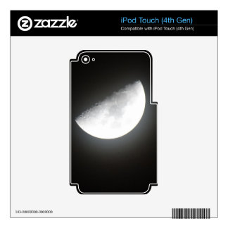 Midnight Half-Moon Decals For iPod Touch 4G
