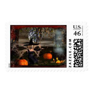 Midnight-Halloween 2010 Stamp