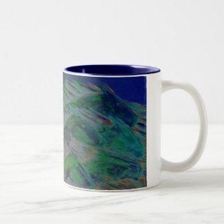 Midnight Horses Two-Tone Coffee Mug