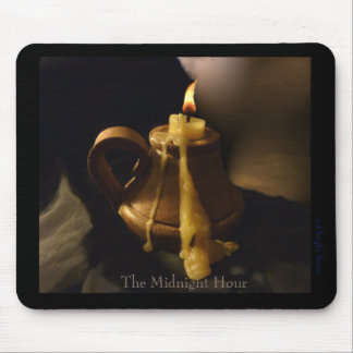 Midnight Hour Mouse Mat - Candleflame