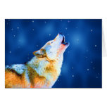 Midnight Howl Cards Greeting Card