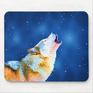Midnight Howl Mousepad
