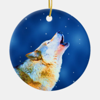 Midnight Howl Ornament Christmas Ornament