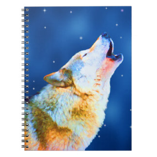 Midnight Howl Spiral Notebook
