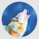 Midnight Howl Stickers