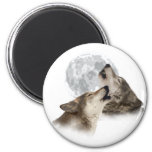 Midnight Howling Fridge Magnets